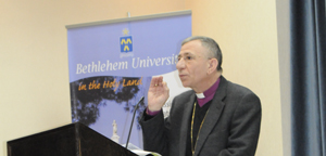 Bishop Younan at the Third International Conference on Christian-Muslim Relations