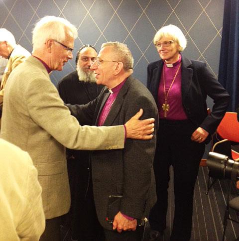 Bishop Younan Celebrates 1,000 years of Christianity in Skara, Sweden