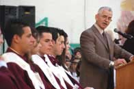 Graduation ceremony, School of Hope