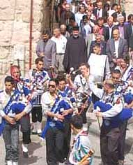 ELCJHL anniversary parade