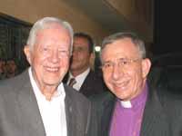 Carter and Younan in Ramallah