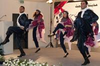 Traditional Dabke Dancing at Dar Al-Kalima College Dedication