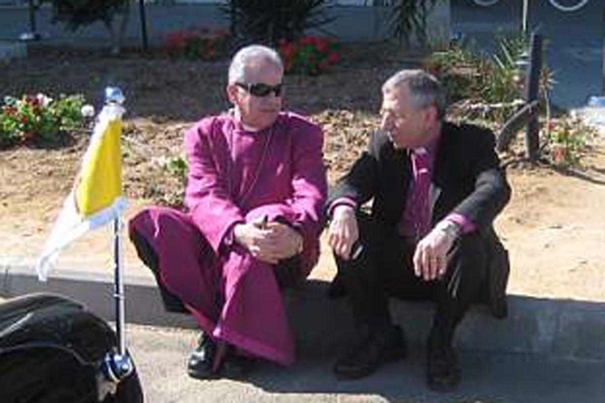 bishops at Erez