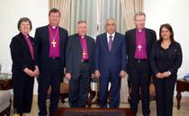 Delegation with Salam Fayyad