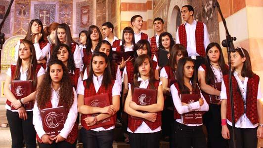 Talitha Kumi Lutheran School choir on Easter