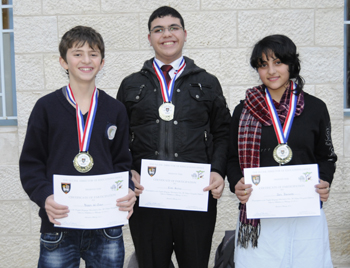 Winners of the Fourth Annual English Language Bowl