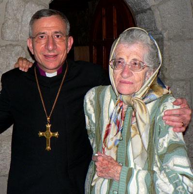 Bishop Younan and His Mother