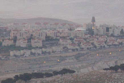 settlement east of the Mount of Olives