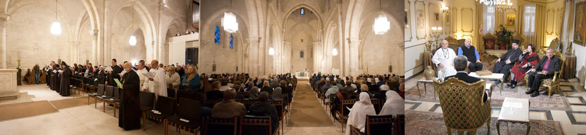 Photos from the Week of Prayer for Christian Unity