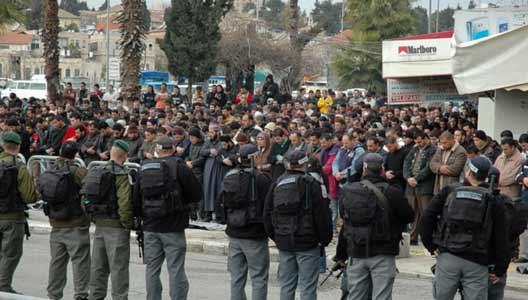 2006 Prayer Outside of Damascus Gate