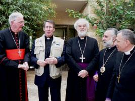 2006 Archbishop Visits EAPPI