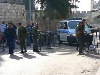 2007 Closure of Al Aqsa Mosque