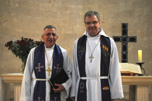 Bishop Hans-Erik Nordin and Delegation visit the ELCJHL