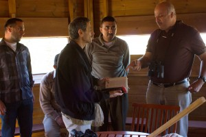 The EEC discusses birds on the first day of National Bird Ringing Week