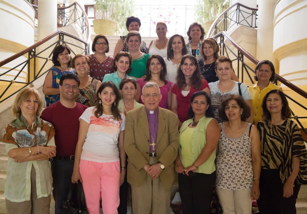 The 2014 Women's Desk Conference at the Dead Sea, Jordan (© ELCJHL)