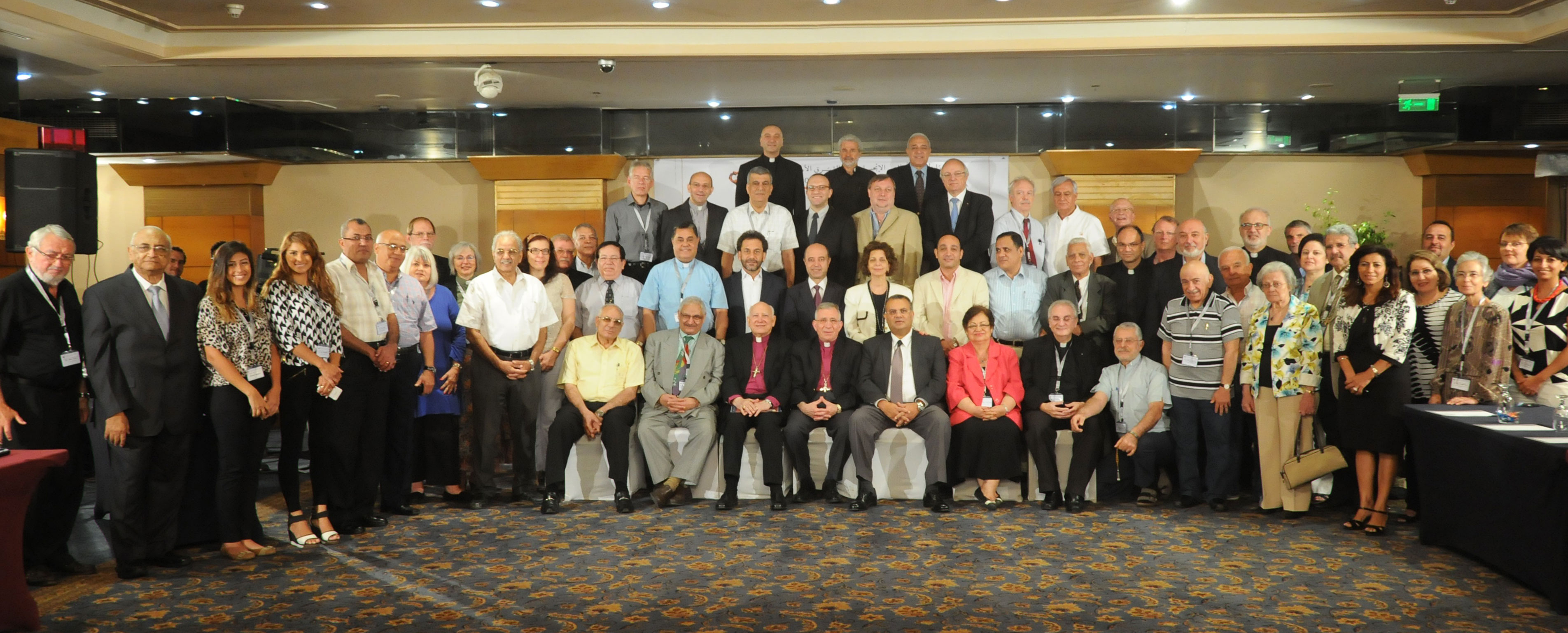 The Four Families of the Fellowship of Middle East Evangelical Churches (FMEEC) (©FMEEC)