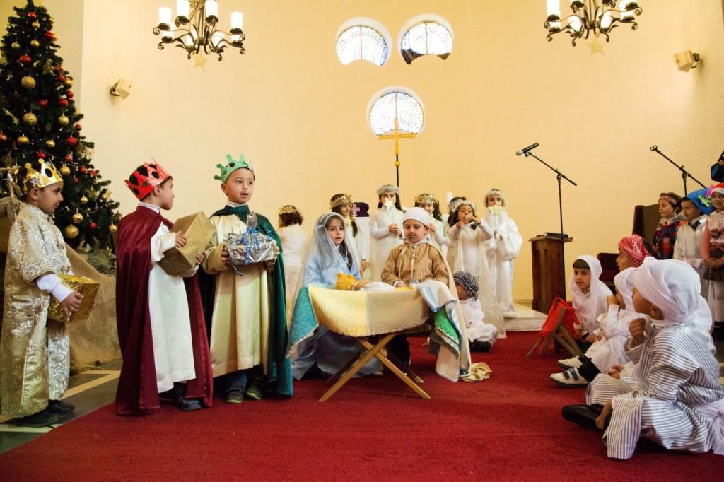 تمثيلية قصة الميلاد لأطفال مدرسة الرجاء الإنجيلية اللوثرية – رام الله Christmas Play for Children of the Evangelical Lutheran School of Hope - Ramallah